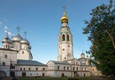 Ekonomsky body, bell tower and the dome of St. Sophia Cathedral. Vologda. Kremlin. Ekonomsky body, bell tower and the dome of St. Sophia Cathedral royalty free stock photos
