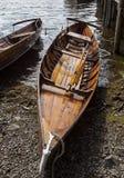 Ekor på kust av Derwent vatten, Keswick Royaltyfria Foton