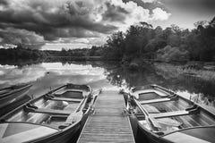 Ekor på loughen Eske, Co Donegal Irland fotografering för bildbyråer