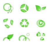 ekosymboler Arkivbild