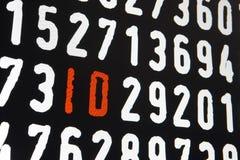 Ekran komputerowy z id tekstem na czarnym tle ilustracja wektor
