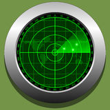 Ekran radaru ilustracji