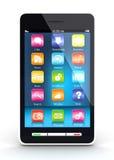 Ekran sensorowy smartphone obraz royalty free
