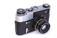 Ekranowa kamera na białym tle Fotografia Stock