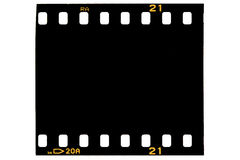 Ekranowa rama, czarna Zdjęcia Royalty Free