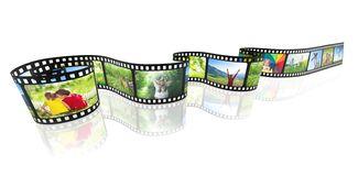 Ekranowego paska pojęcia medialny wizerunek ilustracja wektor