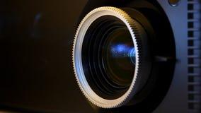 Ekranowego projektoru obiektyw zbiory