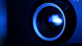 Ekranowego projektoru obiektyw zbiory wideo