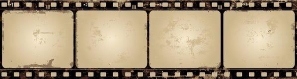 ekranowej ramy grunge wektor royalty ilustracja