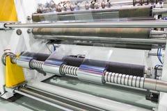 Ekranowej rolki rozpruwania maszyna zdjęcie stock