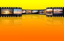ekranowy biel Fotografia Stock