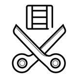 Ekranowy ikona wektor royalty ilustracja