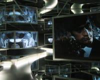 Ekranowy muzeum w Sony centrum Berlin Zdjęcia Royalty Free