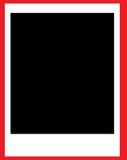 ekranowy polaroid Zdjęcia Royalty Free