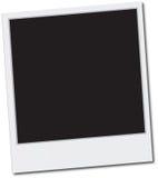 ekranowy polaroid Obrazy Stock