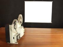 ekranowy projektor Zdjęcie Royalty Free