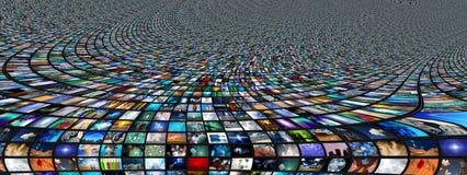 Ekrany Abstrakcjonistyczni Zdjęcie Stock