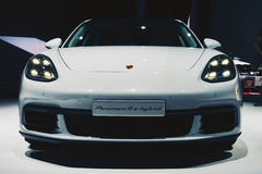 Ekreuzung 2017 Porsches Panamera 4 Lizenzfreie Stockbilder
