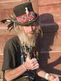 ekscentrycznego mężczyzna stary kciuk stary Obraz Royalty Free