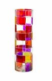 Ekscentryczny barwiony szkło Obrazy Royalty Free