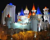 ekskalibur hotelowe Vegas lasów Zdjęcie Stock