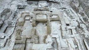 Ekskawacja stara ortodoksyjna świątynia zbiory