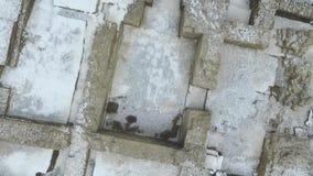 Ekskawacja stara ortodoksyjna świątynia zbiory wideo