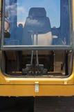 Ekskawator kabina Fotografia Royalty Free