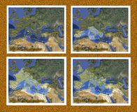 Ekspansja Imperium Rzymskie przed i po Chrystus Zdjęcie Royalty Free