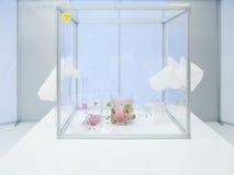 Eksperymentów materiały w bezpłodnej sala i wyposażenie Fotografia Royalty Free