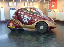 Eksperymentalny ogniwo paliwowe samochód Zdjęcie Royalty Free