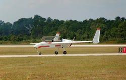 eksperymentalny samolot światło Zdjęcie Royalty Free
