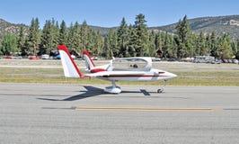 Eksperymentalny samolot Zdjęcie Royalty Free