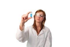 eksperymentu lab spełnianie techniczny zdjęcie stock