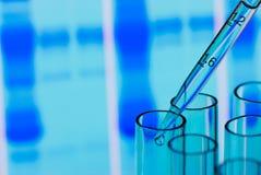 eksperymentu naukowy medyczny fotografia stock