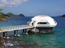 eksploracja podwodna fotografia stock