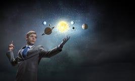 Eksploracja przestrzeni kosmicznej zdjęcie royalty free