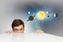 Eksploracja przestrzeni kosmicznej obrazy royalty free