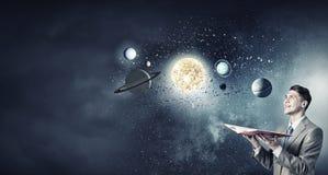 Eksploracja przestrzeni kosmicznej fotografia stock