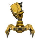 Eksploracja robot ilustracji
