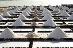 eksploracja wypiętrza zasoloną sól zdjęcia royalty free