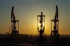 Eksploracja złóż ropy naftowej obraz stock
