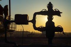 Eksploracja złóż ropy naftowej zdjęcia stock