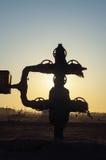 Eksploracja złóż ropy naftowej zdjęcia royalty free