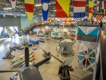 Eksponat przy Militarnymi muzeami, Calgary Zdjęcie Royalty Free