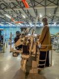 Eksponat przy Militarnymi muzeami, Calgary Obrazy Royalty Free
