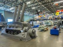 Eksponat przy Militarnymi muzeami, Calgary Fotografia Stock