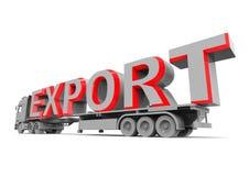 Eksportowy pojęcie Obrazy Royalty Free