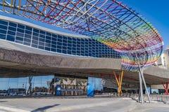 Ekspozyci, kongresu i targ handlowy centrum w Malaga, Hiszpania Fotografia Stock