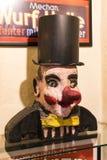 Ekspozycje przy muzeum Oktoberfest festiwal napadać na kogoś, butelkują, historię świętowanie fotografia royalty free